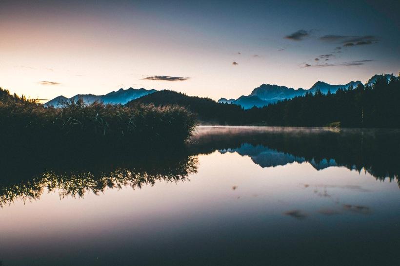 Am nächsten Morgen - Ruhe am See