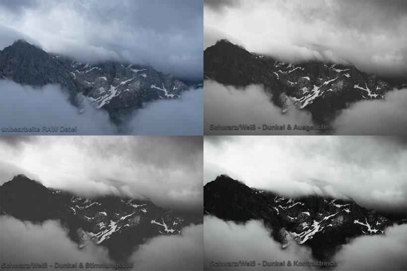 Meine Lightroom Presets für die Bildbearbeitung in Schwarz und Weiß