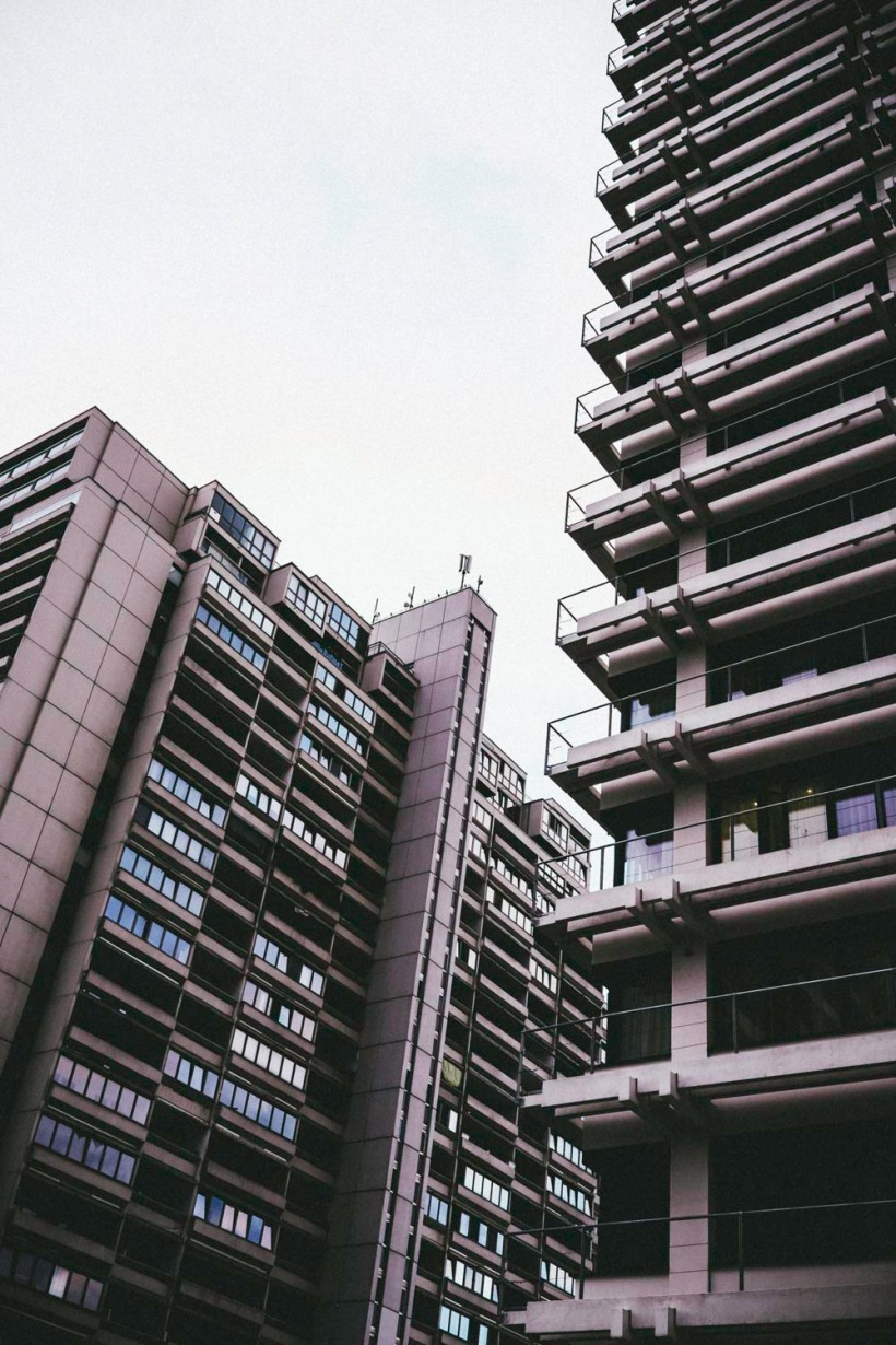 Moderne Architektur die nicht erdrückend wirkt