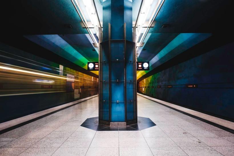 Die bunte Station am Candidplatz